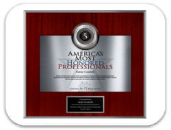 Awarded American Registry: America's Most Honored Professionals Top 5% 2016 Award: Dr. Cesaretti
