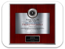 Mitchell Terk, MD Awarded American Registry: America's Most Honored Professionals Top 1% 2016 Award